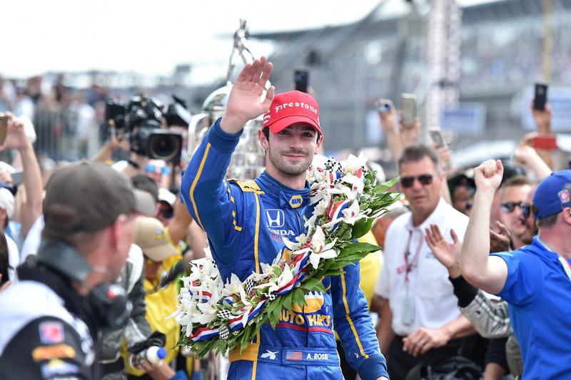 Alexander Rossi, Herta - Andretti Autosport Honda pemenang lomba