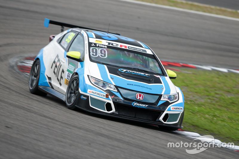 Josh Files, Honda Civic TCR