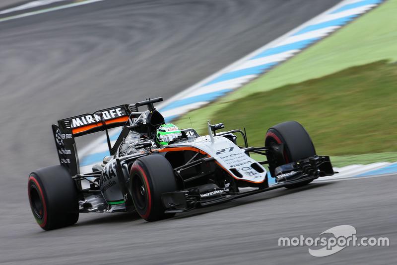 8: Nico Hulkenberg, Sahara Force India F1 VJM09 (una posición de penalización)