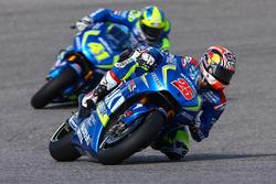 Maverick Viñales, Team Suzuki MotoGP und Aleix Espargaro, Team Suzuki MotoGP