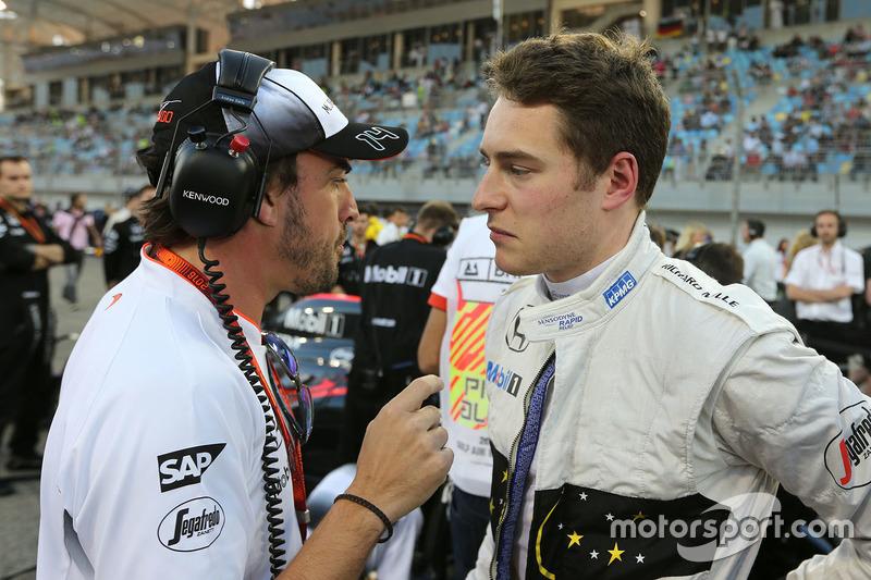 Fernando Alonso, McLaren with Stoffel Vandoorne, McLaren