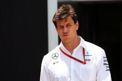 Тото Вольф, совладелец и исполнительный директор Mercedes AMG F1