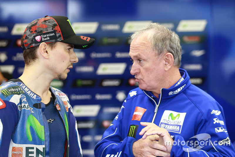Jorge Lorenzo, Yamaha Factory Racing and crew chief Ramon Forcada