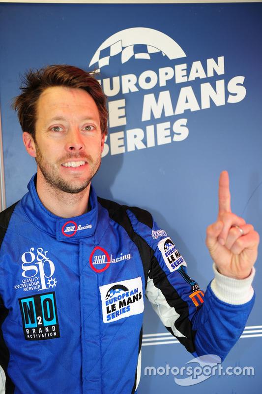 LMP3 polesitter Ross Kaiser, 360 Racing