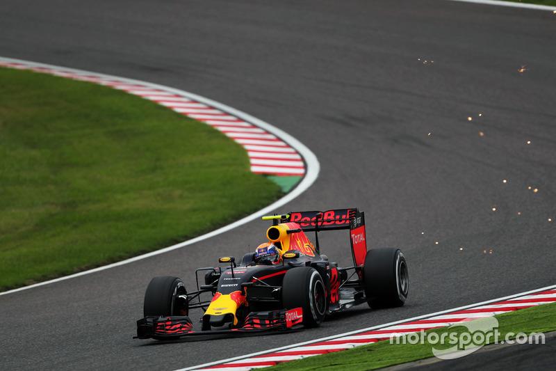 4: Max Verstappen, Red Bull Racing RB12