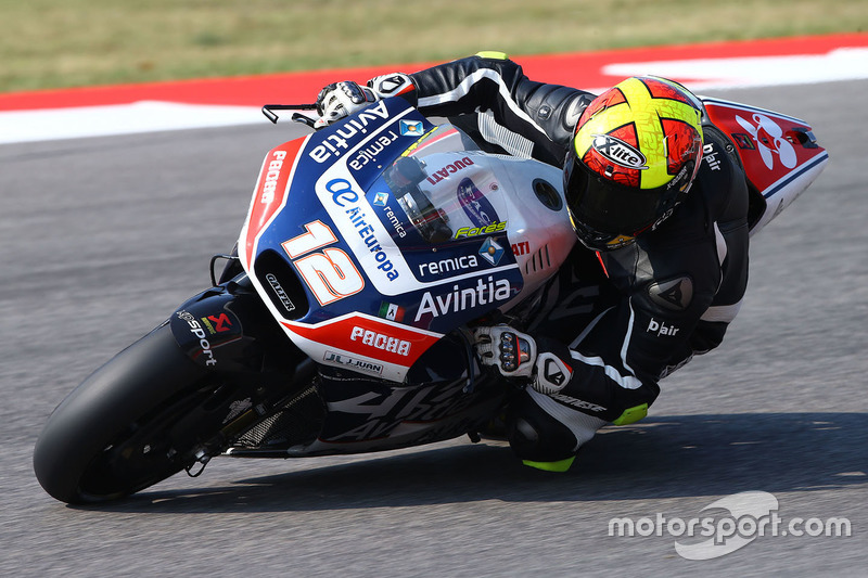 Ausfall: Javier Fores, Avintia Racing