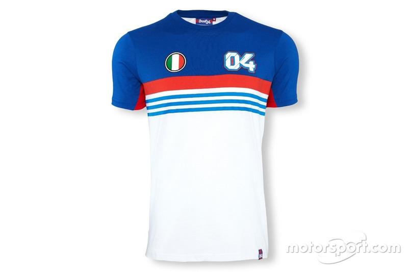 T-shirt rayé #04 Andrea Dovizioso