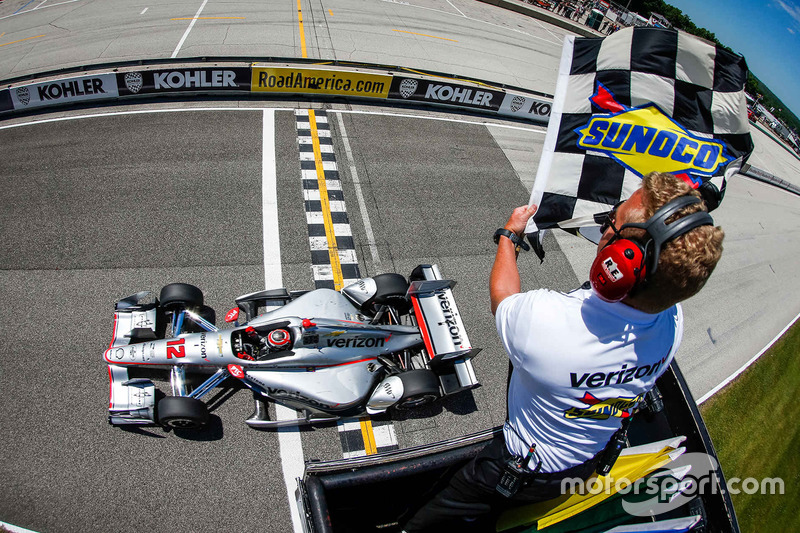 #3: Will Power gewinnt in Road America