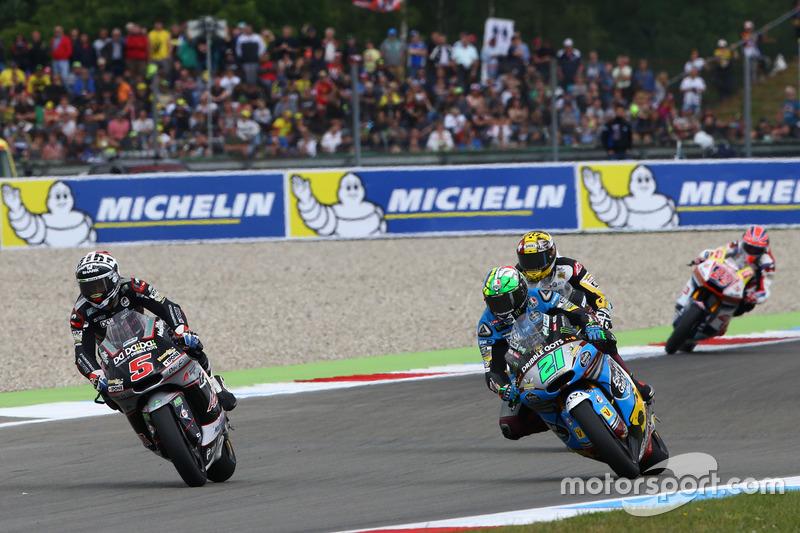 Franco Morbidelli, Marc VDS and Johann Zarco, Ajo Motorsport