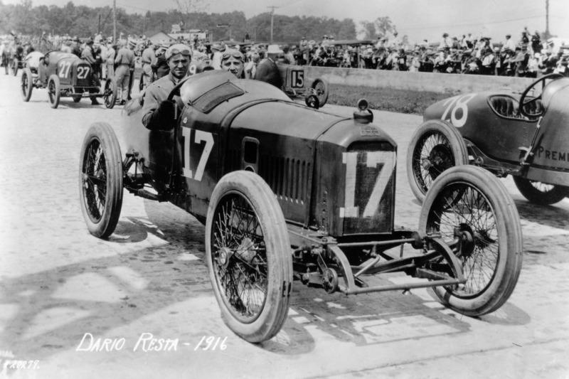 Le vainqueur Dario Resta, Peugeot
