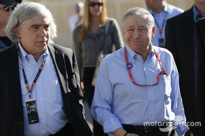 Ernest Jeffrey Moniz, United States Secretary of Energy with Jean Todt, FIA President