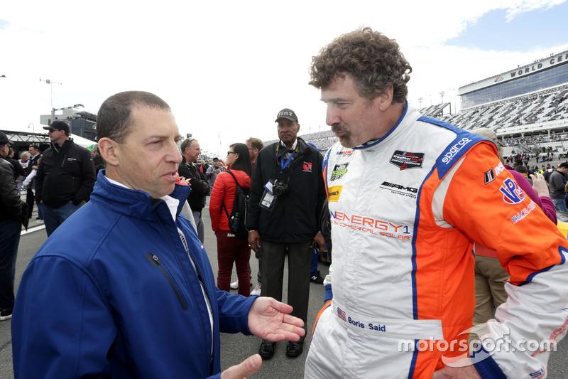 Rob Kaufmann con Boris Said, SunEnergy1 Racing