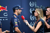 Daniel Ricciardo, Red Bull Racing talks, with Mara Sangiorgio, Sky Sports Italia
