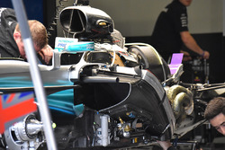 Mercedes W08: ecco la power unit