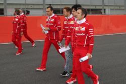 Sebastian Vettel, Ferrari; Riccardo Adami, Ferrari-Ingenieur