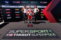 Ganador de la pole P.J. Jacobsen, MV Agusta