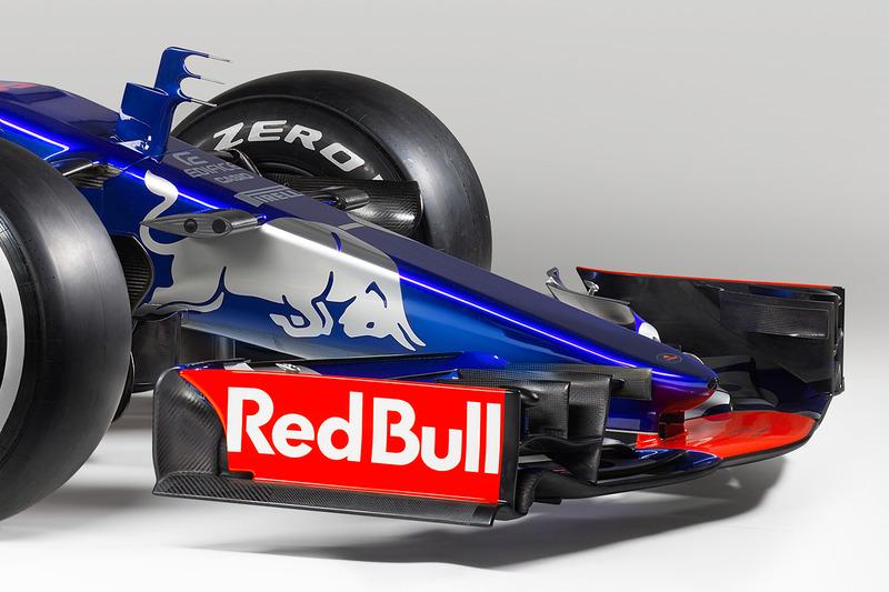Передняя часть Toro Rosso STR12