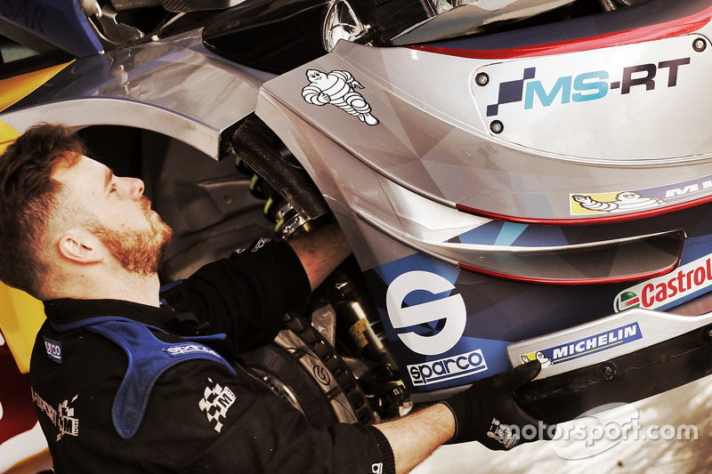 M-Sport mechanic