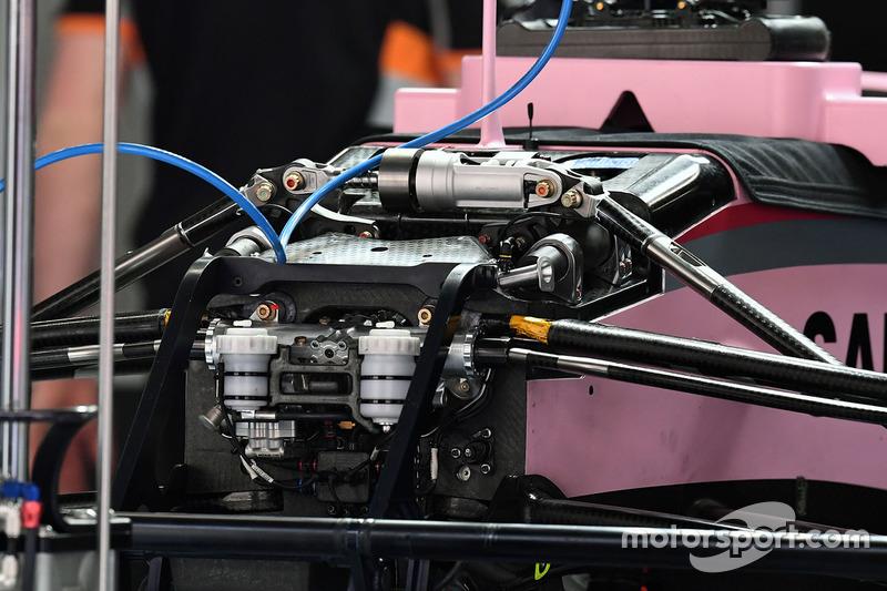 Force India VJM10 front detail