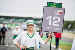 Grid girl of Dorian Boccolacci, Trident