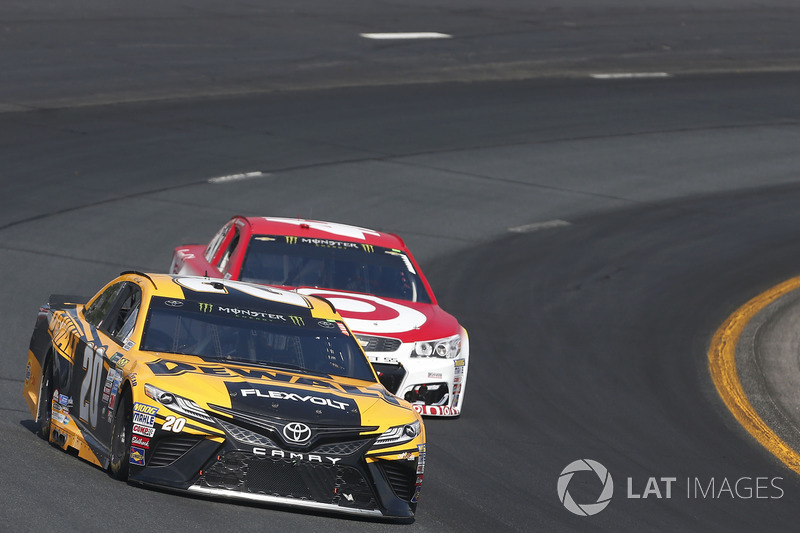 Matt Kenseth, Joe Gibbs Racing Toyota Kyle Larson, Chip Ganassi Racing Chevrolet
