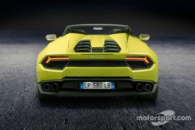 Lamborghini Huracan RWD Spyder unveil