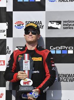 Podium: third place Patrick Long, Wright Motorsports