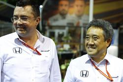 Виконавчий директор McLaren Technology Group Зак Браун, керівник Honda Motor Co Масасі Ямамото