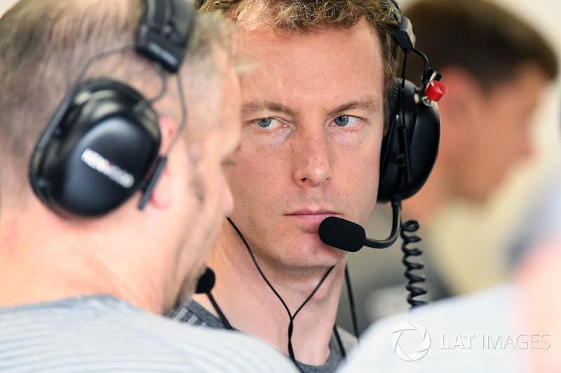 Mark Temple, McLaren-Renningnieur