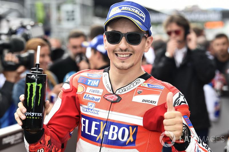 Хорхе Лоренсо, Ducati Team, після кваліфікації