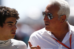 Lance Stroll, Williams with his father Lawrence Stroll