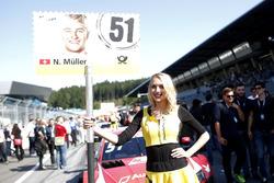 Gridgirl für Nico Müller, Audi Sport Team Abt Sportsline, Audi RS 5 DTM