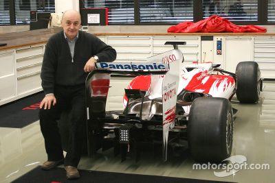 Zoran Stefanovic Toyota F1 ziyareti