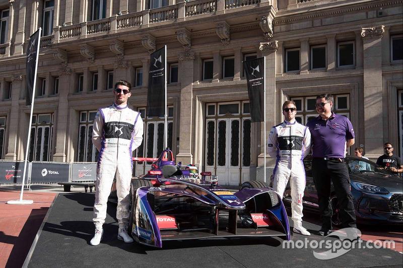 Sam Bird, José María López, DS Virgin Racing