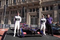 Sam Bird, DS Virgin Racing; Jose Maria Lopez, DS Virgin Racing