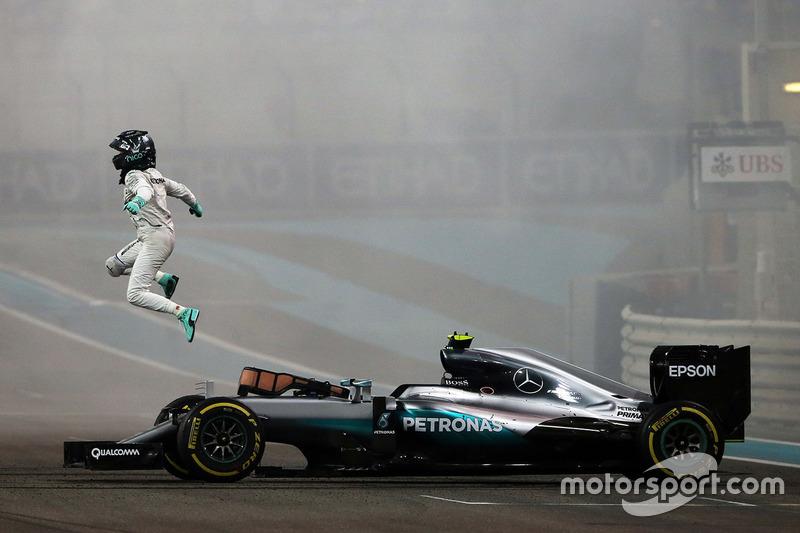 Campeón del Mundo, Nico Rosberg, Mercedes AMG F1 W07 Hybrid