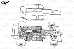 Williams FW09 1983 exploded-detail view