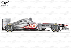 McLaren MP4-26 side view