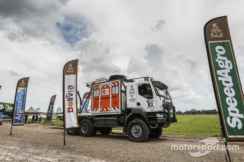 ASO Organization truck