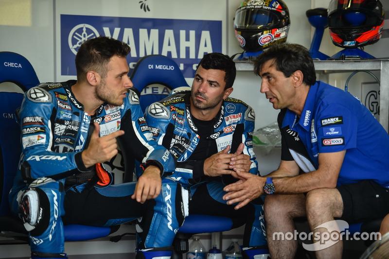 #94 GMT94 Yamaha : Christophe Guyot avec Niccolo Canepa et Mike di Meglio