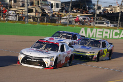 Kyle Benjamin, Joe Gibbs Racing Toyota and William Byron, JR Motorsports Chevrolet