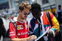 Sebastian Vettel, Ferrari and Mr Moko