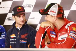 Дани Педроса, Repsol Honda Team, и Хорхе Лоренсо, Ducati Team
