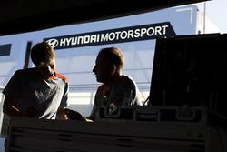 Atmosphere at Hyundai Motorsport