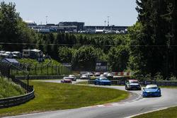 Arrancada Nestor Girolami, Polestar Cyan Racing, Volvo S60 Polestar TC1 líder