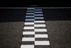 The start/finish line