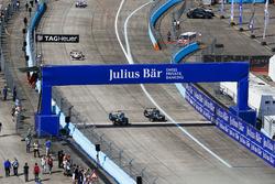 Nelson Piquet Jr., NEXTEV TCR Formula E Team, Adam Carroll, Jaguar Racing
