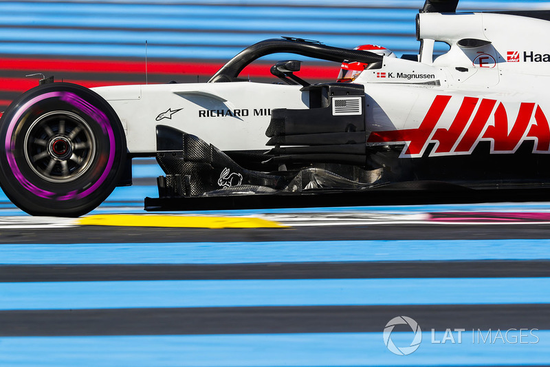 9: Kevin Magnussen, Haas F1 Team VF-18, 1'32.930