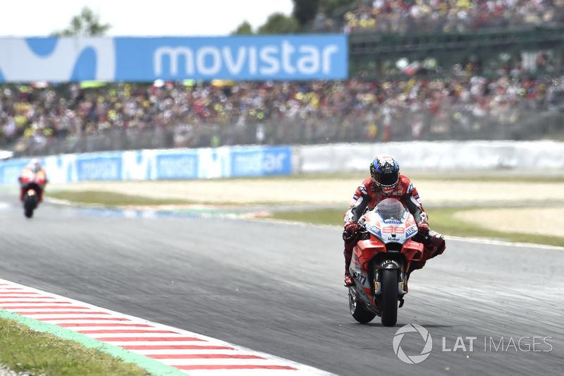 17: Gran Premio de Catalunya 2018: Jorge Lorenzo, Ducati Team