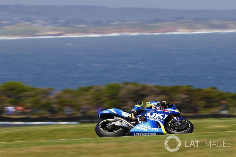 8. Alex Rins, Team Suzuki MotoGP
